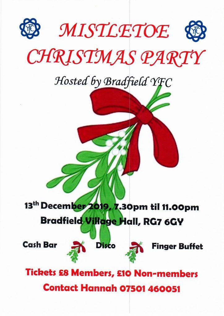 Bradfield's Mistletoe Christmas Party