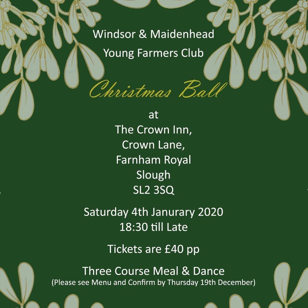 Windsor & Maidenhead Christmas Ball