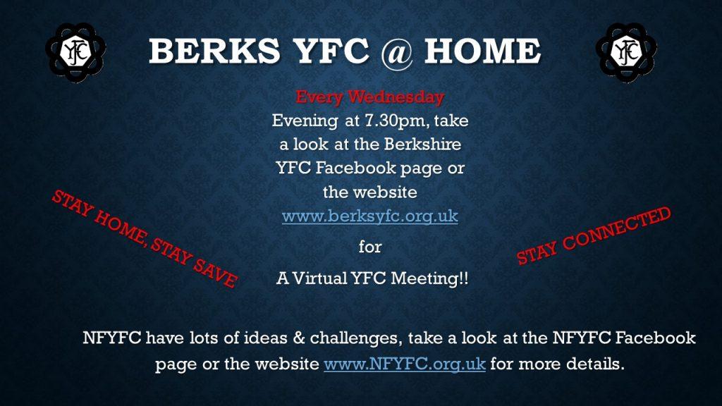 Berks YFC @ Home