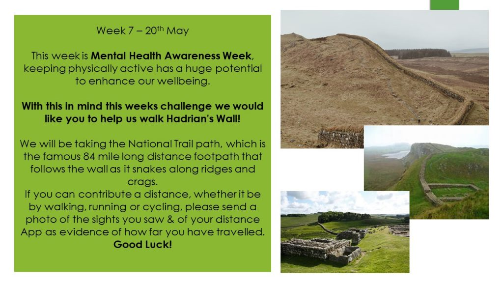 Wednesday 20th May County Virtual Challenge