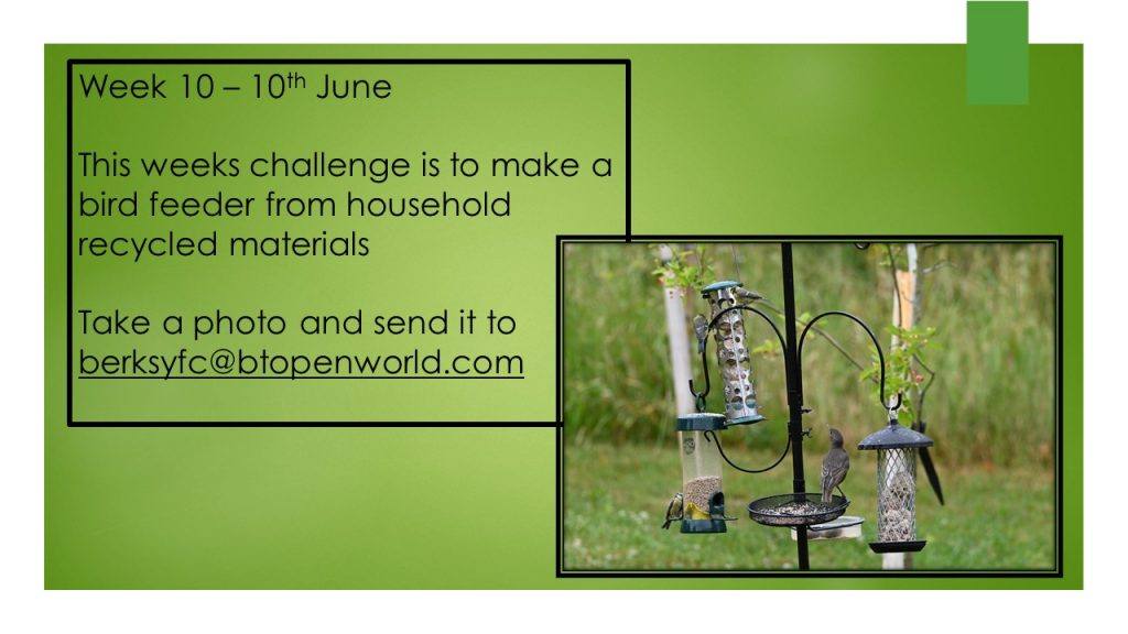 Wednesday 10th June County Virtual Challenge