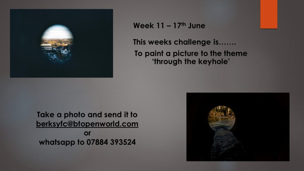 Wednesday 17th June County Virtual Challenge